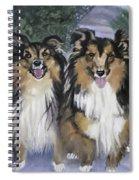 Tanya And Tucker Spiral Notebook