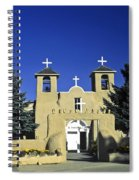 Taos Adobe Church Spiral Notebook