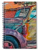 Taos Chevy Spiral Notebook