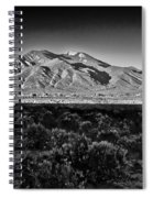 Taos In Black And White X Spiral Notebook