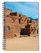 Taos Pueblo 4 Spiral Notebook