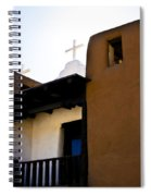 Taos Pueblo Church 2 Spiral Notebook