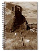 Taos Pueblo Graveyard Spiral Notebook