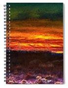 Taos Sunset Lx - Homage Turner Spiral Notebook
