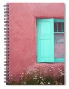 Taos Window I Spiral Notebook