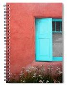 Taos Window Iv Spiral Notebook