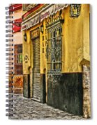 Tapas Bar In Sevilla Spain Spiral Notebook