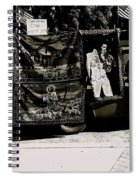 Tapestries Of  Elvis Presley  Hawai Concert Jesus Christ Sheep Horses Flags Armory Park Tucson Az Spiral Notebook