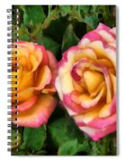 Tapestry - Roses And Thorns Spiral Notebook
