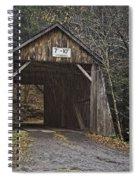 Tappan Covered Bridge Spiral Notebook
