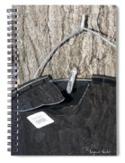 Tapped Spiral Notebook