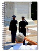 Taps At The Tomb Of The Unknown Spiral Notebook