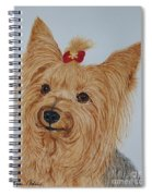 Tara The Yorkie Spiral Notebook