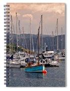 Tarbet Harbor At Sunrise Spiral Notebook