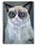 Tard - Grumpy Cat Spiral Notebook