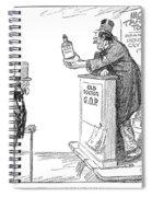 Tariff Bill, 1921 Spiral Notebook