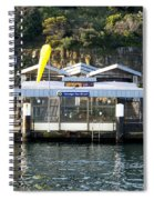 Taronga Zoo Wharf Spiral Notebook