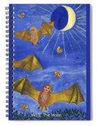 Tarot 18 The Moon Spiral Notebook