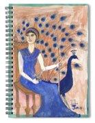 Tarot 2 Juno Spiral Notebook