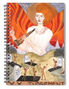 Tarot 20 Judgement Spiral Notebook