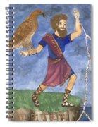 Tarot 5 Jupiter Spiral Notebook