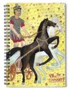 Tarot 7 The Chariot Spiral Notebook