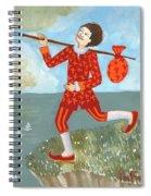 Tarot The Fool Spiral Notebook