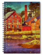 Tarr And Wonson Fading Spiral Notebook
