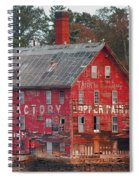 Tarr And Wonson Paint Manufactory Spiral Notebook