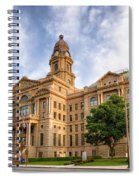 Tarrant County Courthouse II Spiral Notebook