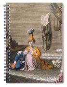 Tashkent Inhabitants In A Typical Spiral Notebook