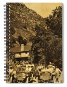Tassajara Hot Springs Monterey County Calif. 1915 Spiral Notebook
