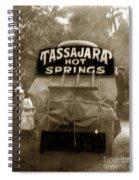 Tassajara Hot Springs Stage Monterey Co. California Circa 1910 Spiral Notebook