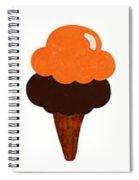 Taste The Ice Cream Rainbow Spiral Notebook