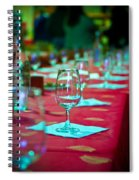 Tasting In Red Spiral Notebook