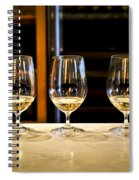 Tasting Wine Spiral Notebook