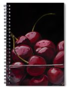 Tasty Cherries Spiral Notebook