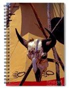 Tatanka Skull Spiral Notebook