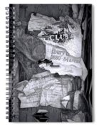 Tattered And Torn Spiral Notebook