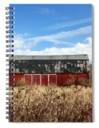 Tattered Shingles Spiral Notebook