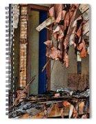 Tattered Spiral Notebook
