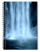 Taughannock Falls Closeup  Spiral Notebook
