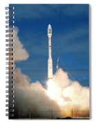 Taurus Rocket Launch Spiral Notebook