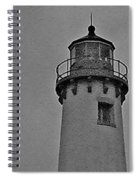 Tawas Point In The Rain Spiral Notebook