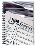 Tax Time  Spiral Notebook