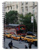 Taxi Stand Spiral Notebook
