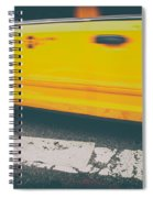 Taxi Taxi Spiral Notebook