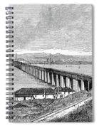 Tay Rail Bridge, 1879 Spiral Notebook