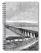 Tay Rail Bridge, 1879 Spiral Notebook