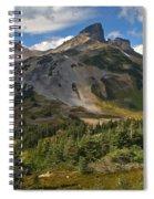Taylor Meadows Below Black Tusk Spiral Notebook